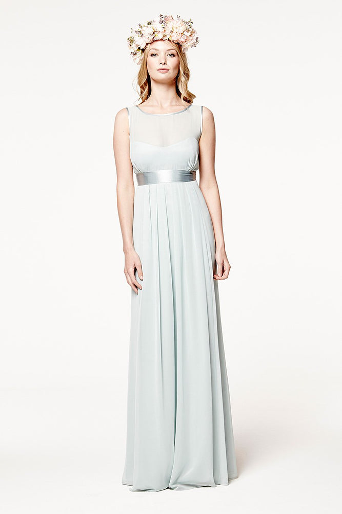 Charlotte Floaty Misty Green Dress