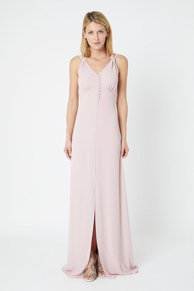 Cindy Blossom Pink Bridesmaids Dress (Front)