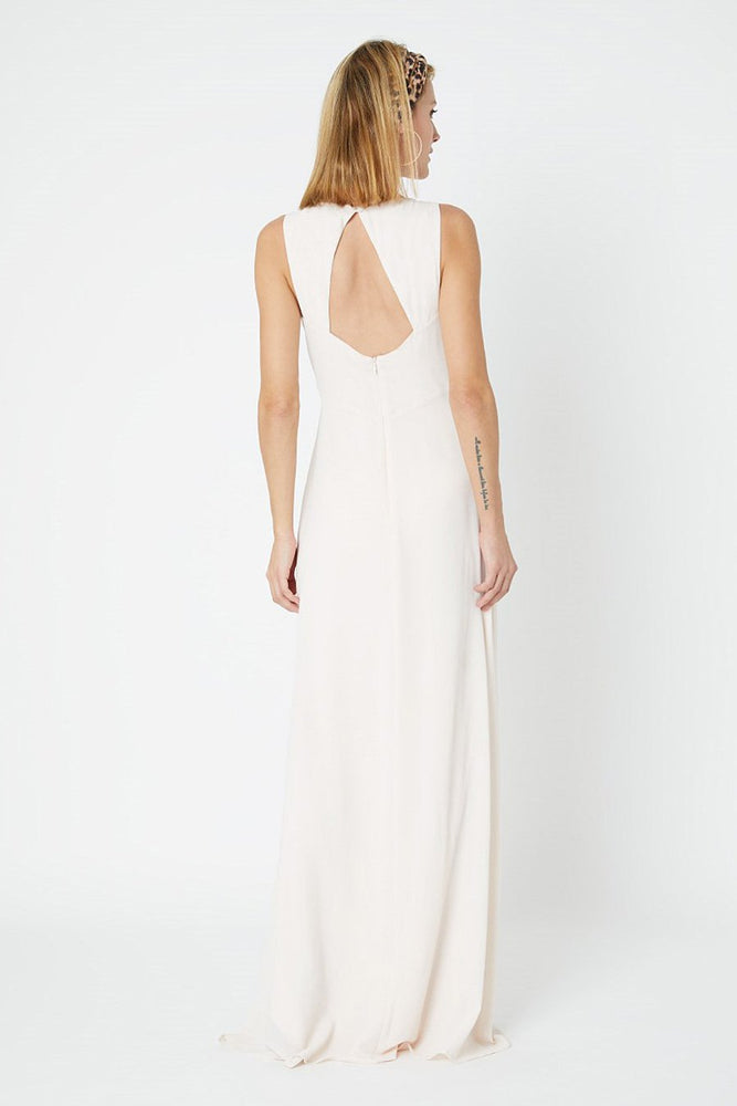 Cindy Cream Soda Bridesmaids Dress (Back)