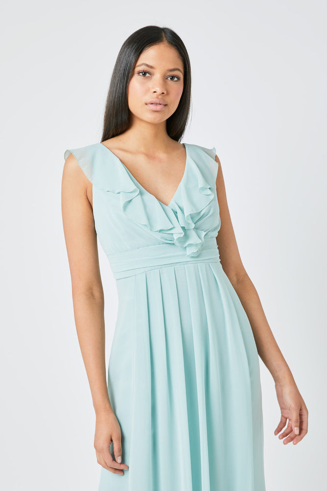 Grace Misty Green Dress