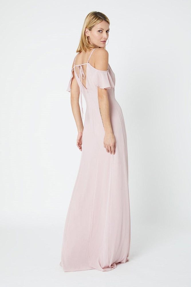 Gigi Blossom Pink Occasion Dress (Back)