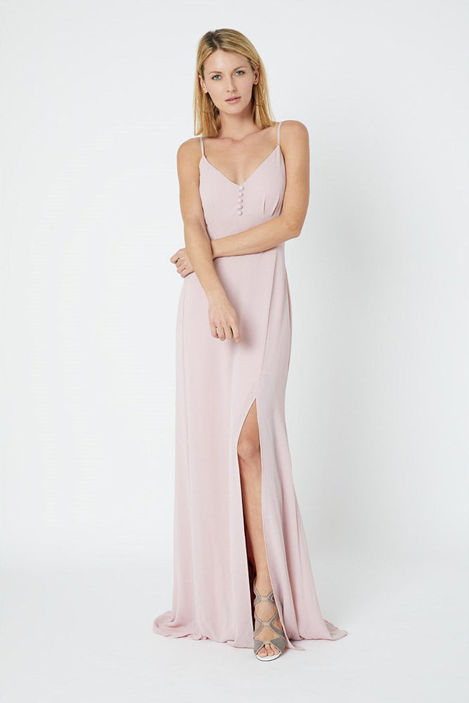 Gigi Blossom Pink Occasion Dress (Front)