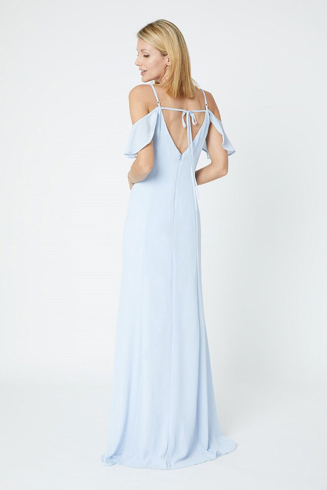 Gigi Cloud Blue Occasion Dress (Back zoom)