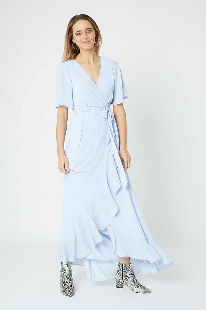 Heidi Cloud Blue Occasion Dress (Front)