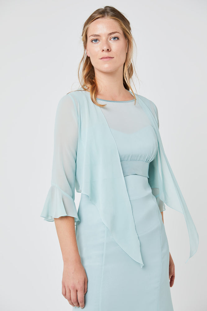 Long sleeve cover up Misty Green