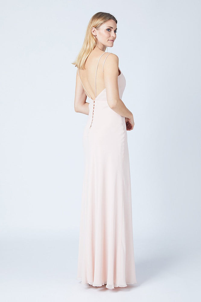 Imperial Cream Soda Bridesmaids Dress (Back)