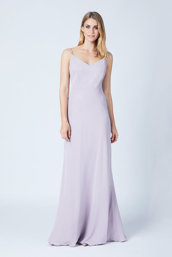 Imperial Frosted Fig Mauve Dress