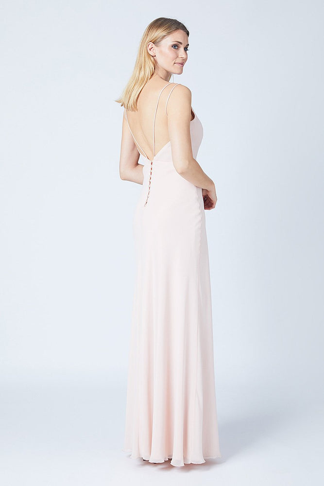 Imperial Just Peachy Bridesmaids Dress (Back)