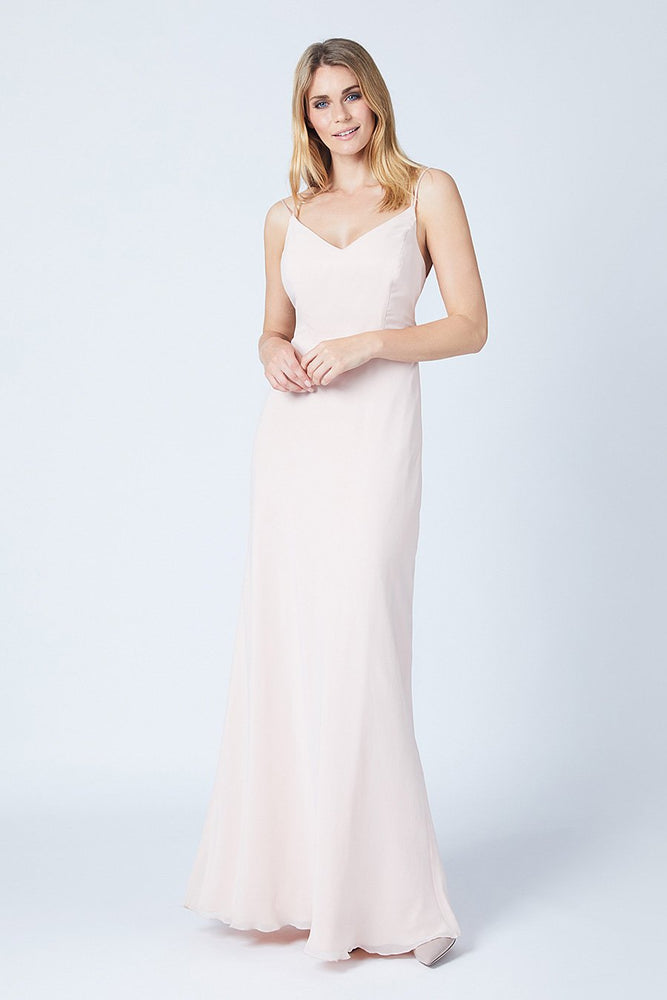 Imperial Just Peachy Bridesmaids Dress (Front)