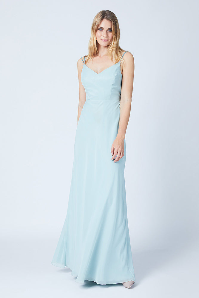 Imperial Misty Green Bridesmaids Dress (Side)