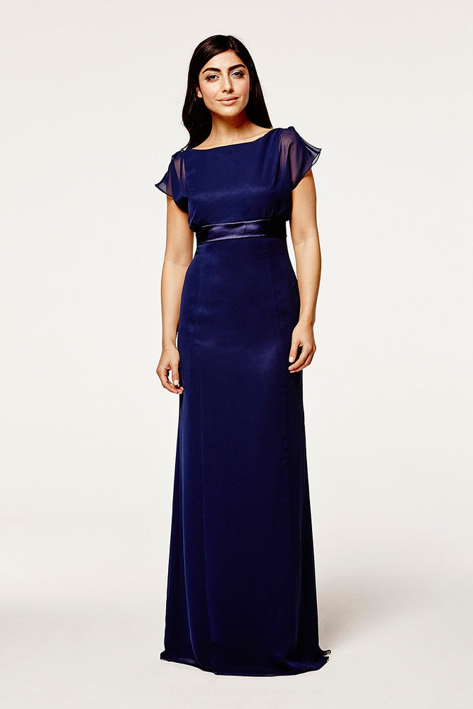 Isla Fitted Midnight Blue Dress