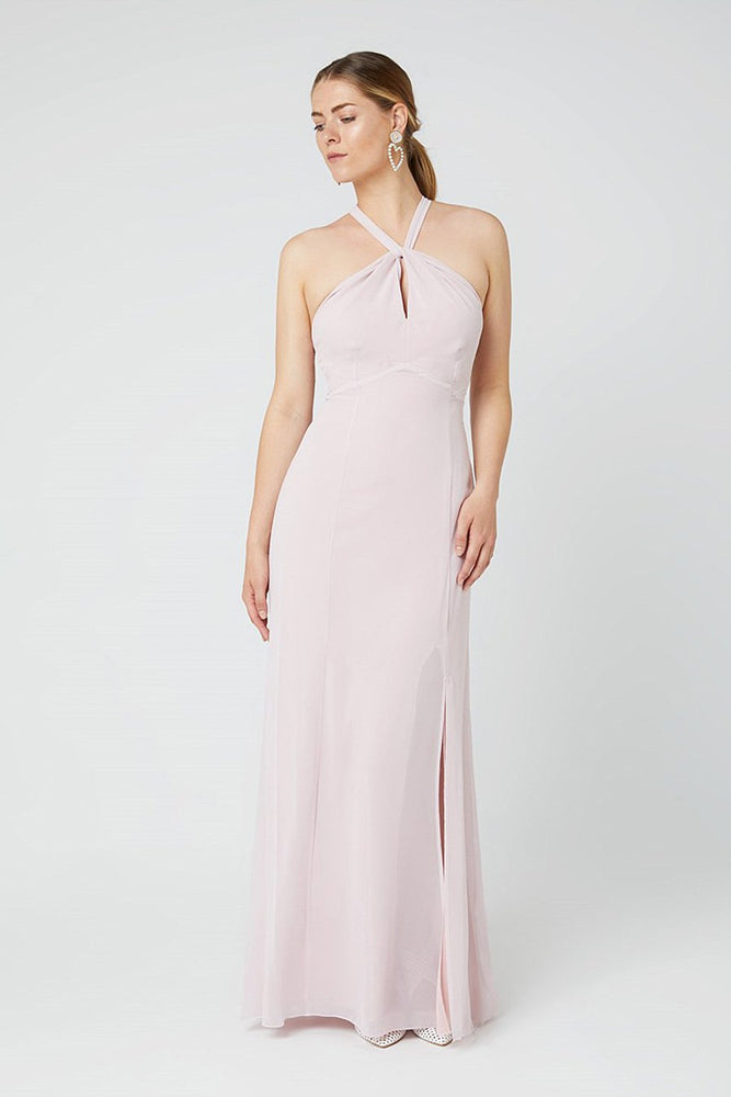Ivy Blossom Pink Occasion Dress (Front)
