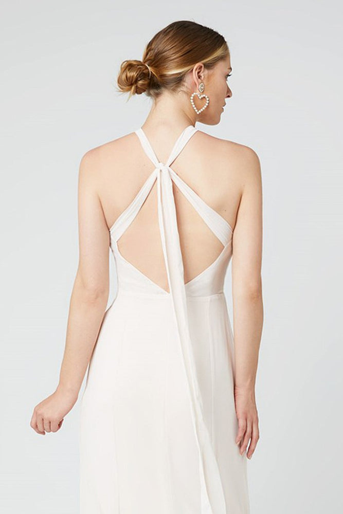 Ivy Cream Soda Occasion Dress (Back zoom)