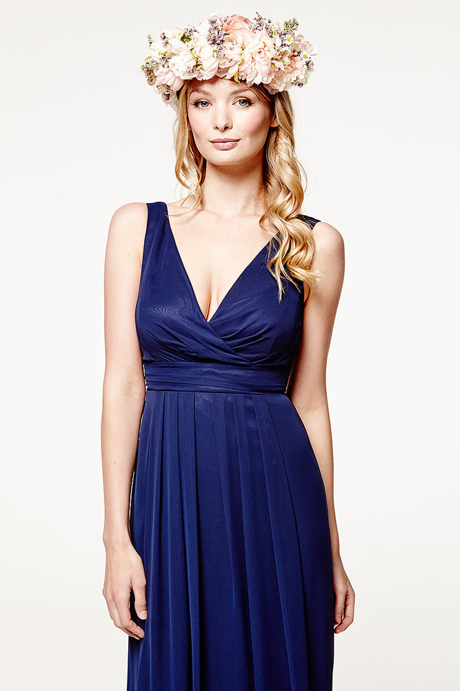 Lisette Floaty Midnight Blue Dress