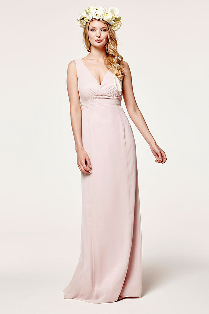 Lisette Fitted Blossom Pink Dress