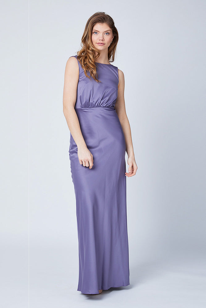 Luna Heather Mauve Dress