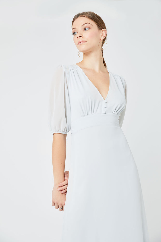 Mathilda Dove Grey Dress