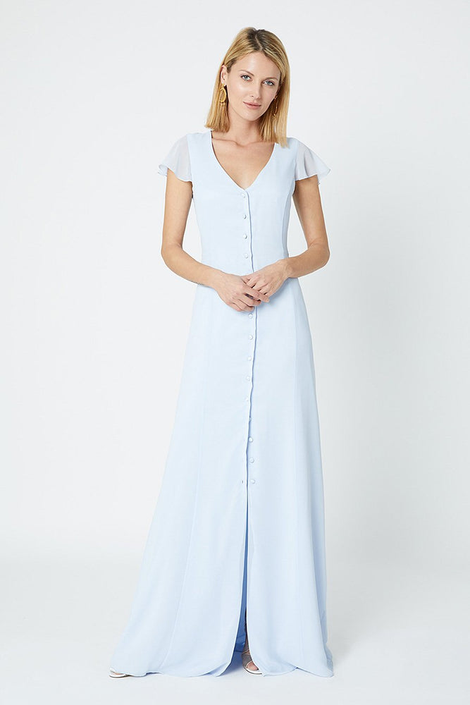 Queenie Cloud Blue Dress