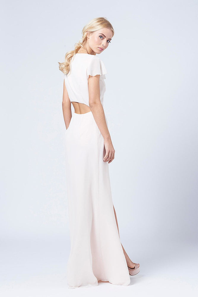 Queenie Cream Soda Occasion Dress (Back)