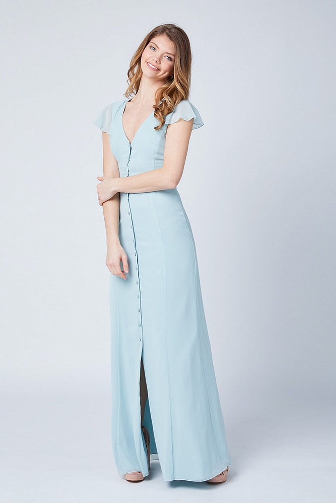 Queenie Misty Green Dress