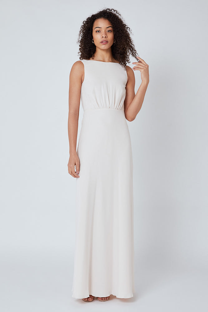 Regent Cream Soda Occasion Dress (Back zoom)