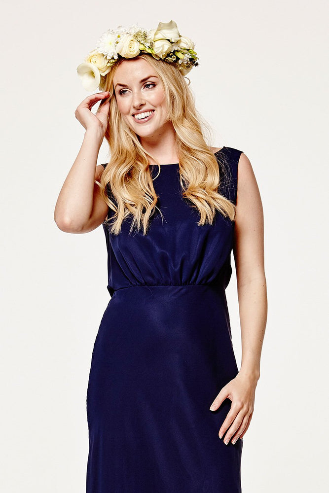 Regent Midnight Blue Occasion Dress (Front zoom)