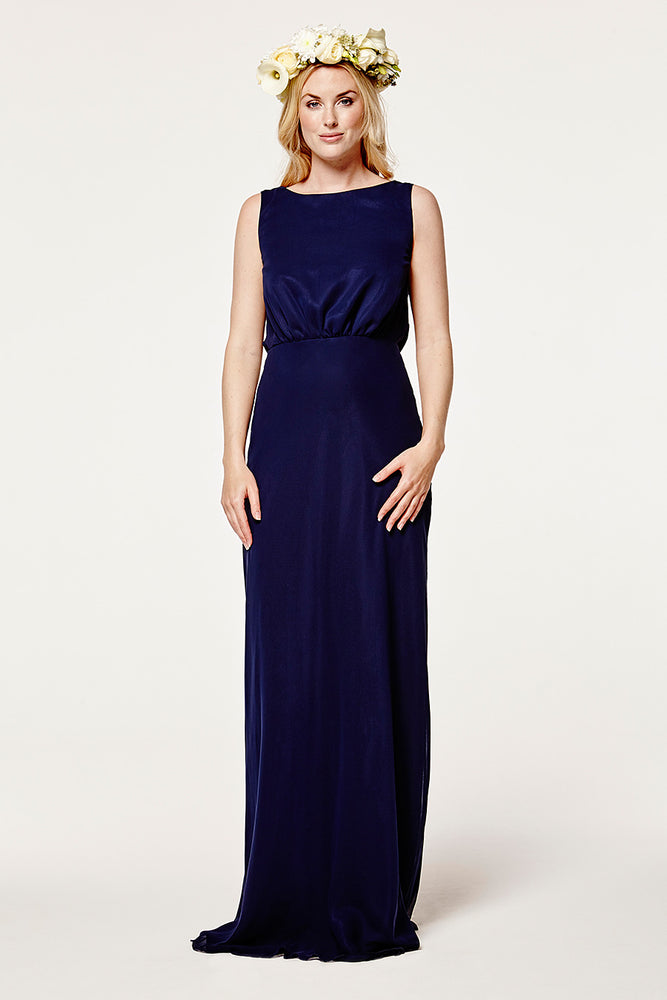 Regent Midnight Blue Occasion Dress (Front)