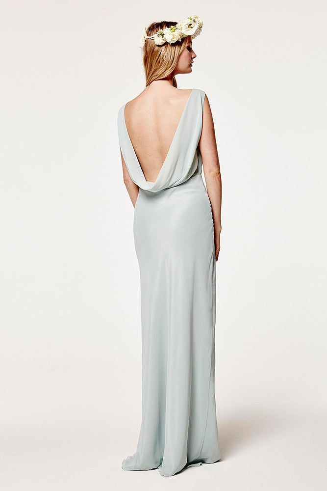 Regent Misty Green Occasion Dress (Back)