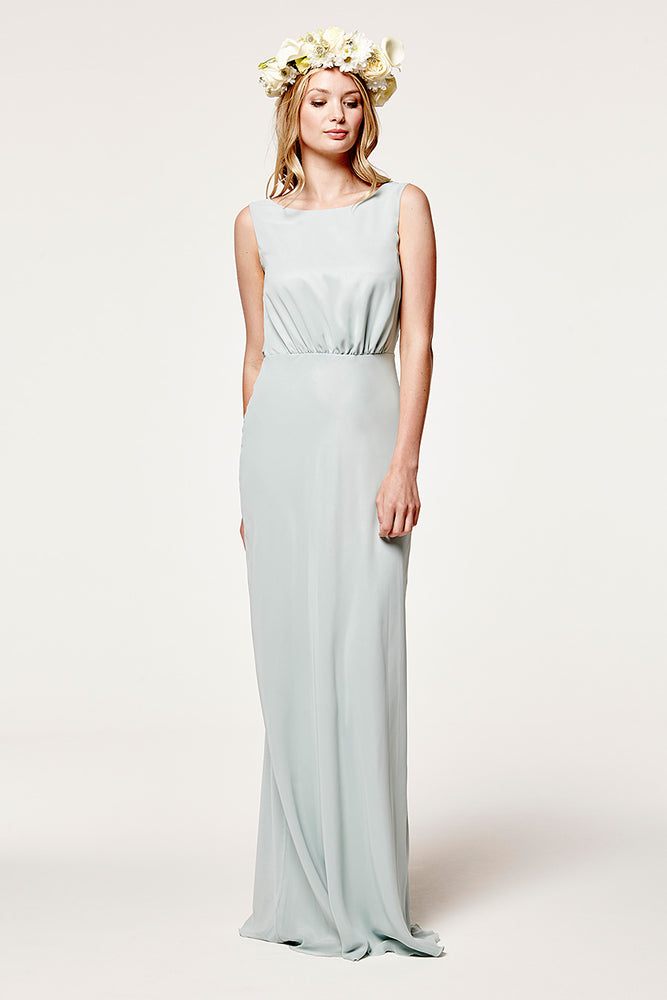 Regent Misty Green Occasion Dress (Front)