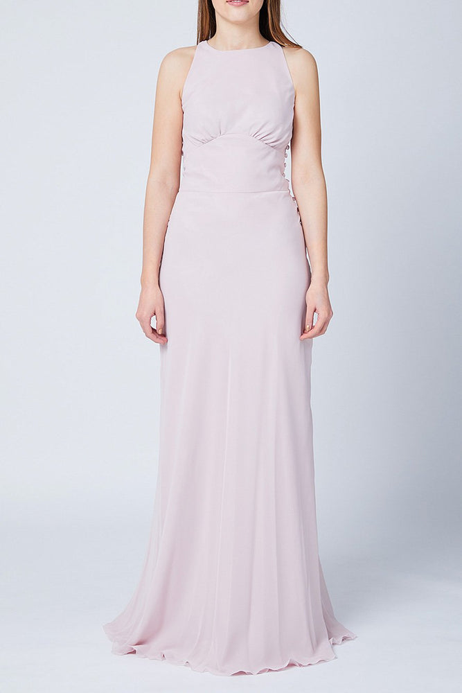 Soho Blossom Pink Bridesmaids Dress (Front)