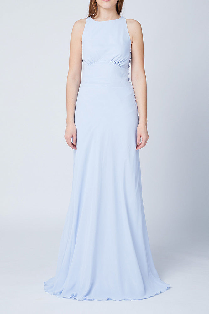 Soho Cloud Blue  Bridesmaids Dress (Front)