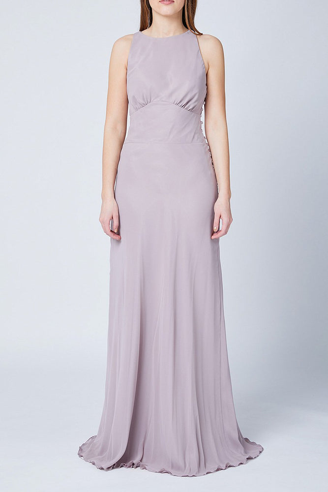 Soho Frosted Fig Mauve Bridesmaids Dress (Front)