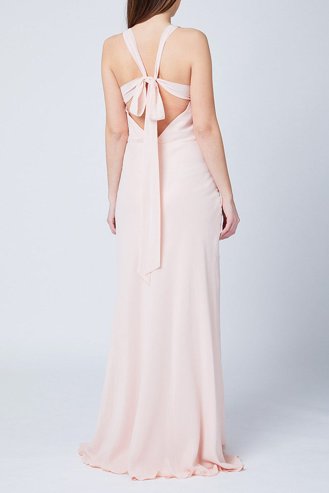 Soho Just Peachy Bridesmaids Dress (Back)