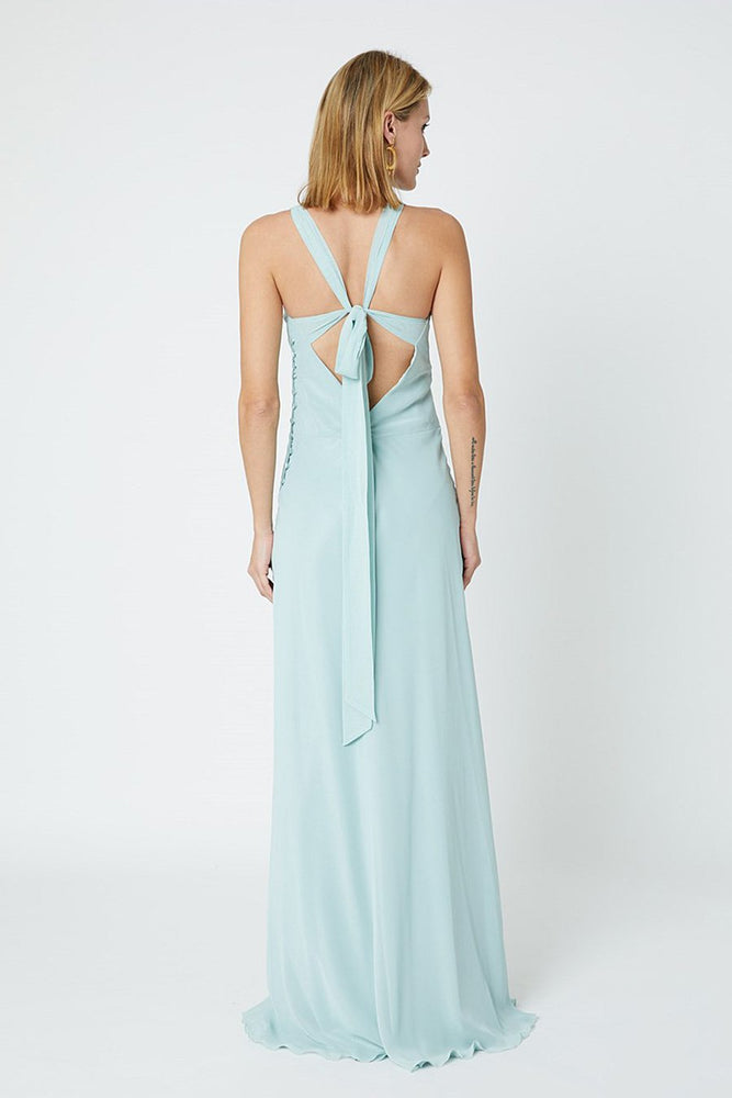 Soho Misty Green Bridesmaids Dress (Back)