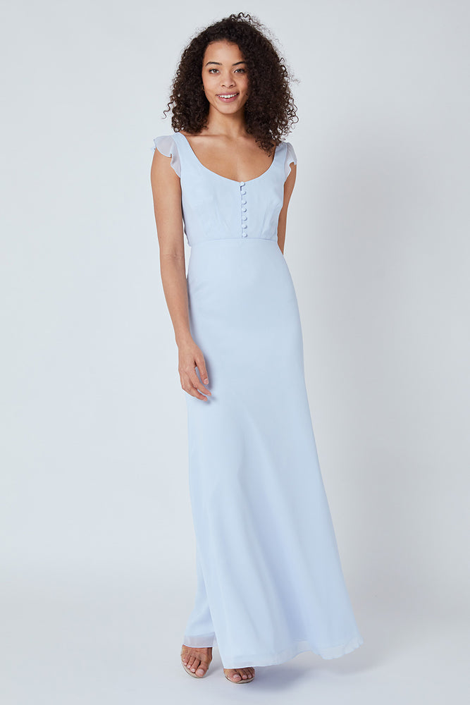 Tansy Cloud Blue Dress