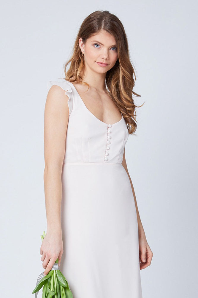 Tansy Cream Soda Occasion Dress (Front zoom)