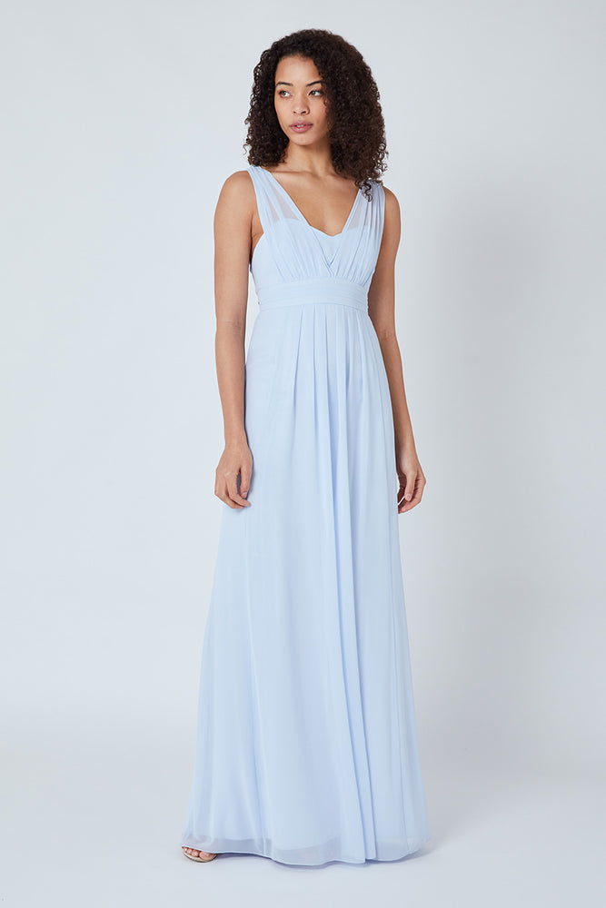 Amy Floaty Cloud Blue Dress