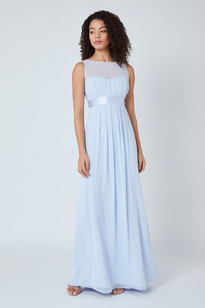 Charlotte Floaty Cloud Blue Dress