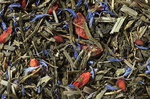 Green Tea Blend (Gojiberry, Blueberry, Pomegranate)