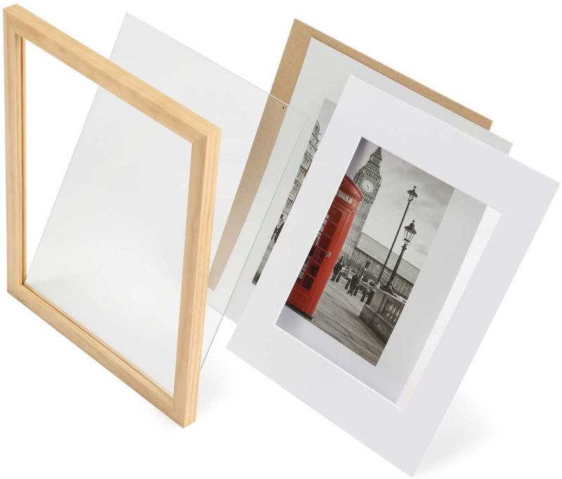 Wood Frame with Mat - 11x14