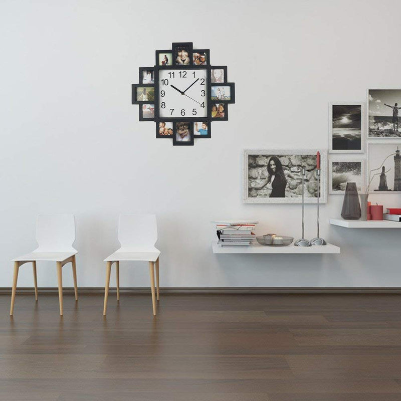 Picture Collage Wall Clock