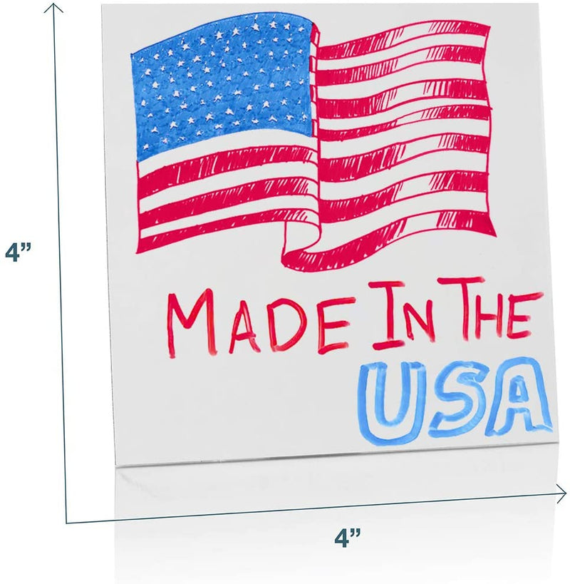 Removable White Board Stickers - 6 Pack