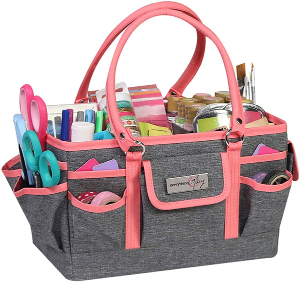 Fabric Craft Tote and Caddy