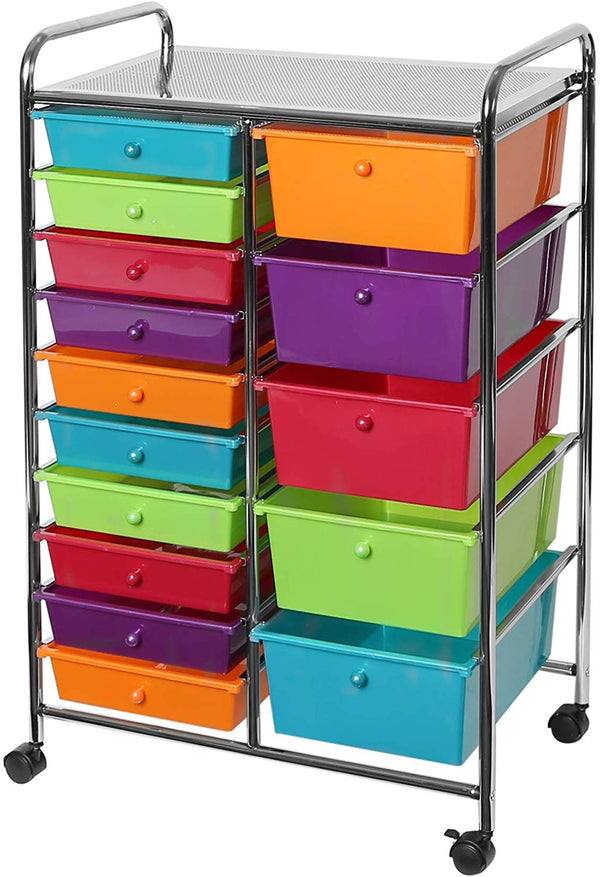 Organizer Cart - 15 Drawer