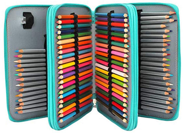 Multi-Compartment Pencil Case