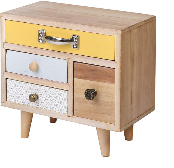 Mini Storage Cabinet with Drawers