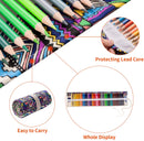 Colored Pencil Roll-Up Set - 72 Piece