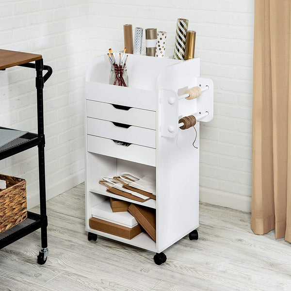 Rolling Cart Storage with 3 Drawers