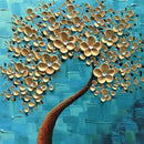 Hand Painted Oil On Canvas Tree of Life