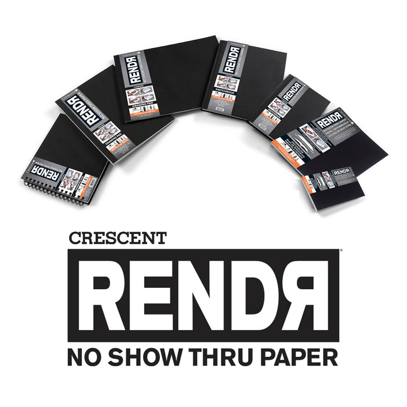 RENDR® Wirebound Drawing Pad